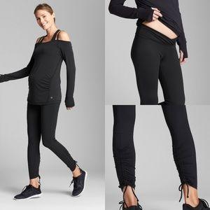 Maternity GapFit Blackout Under-Belly Leggings